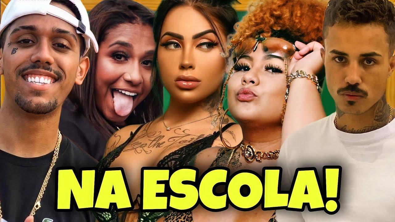 MC DANNY, MC MIRELLA, MC LIVINHO, MAC JÚLIA E MC BRAZ NA ESCOLA!