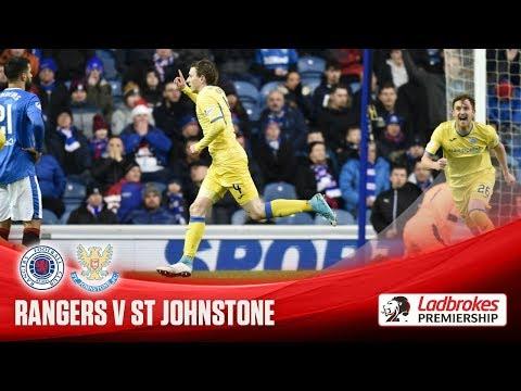 Saints score three to down Rangers at Ibrox