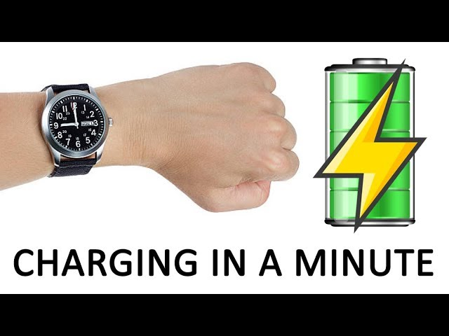 Charge Your Button Cell Watch Battery Within A Minute Easy Diy Youtube