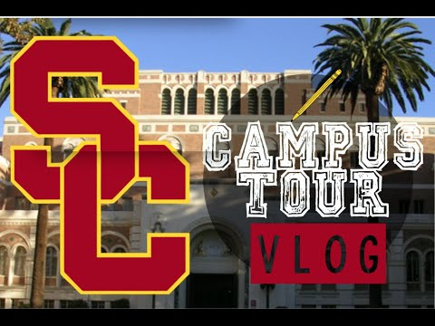 University of Southern California (USC) Campus Tour +Annenberg!