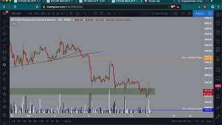 BTC comes back to 8400 | How to manage your risk and emotions | Friday dump!