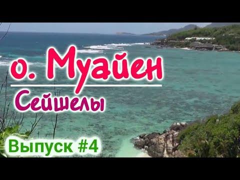 Райский остров Остров Муайен - Moyenne Seychelles Island - Пиратский остров, где зарыт клад