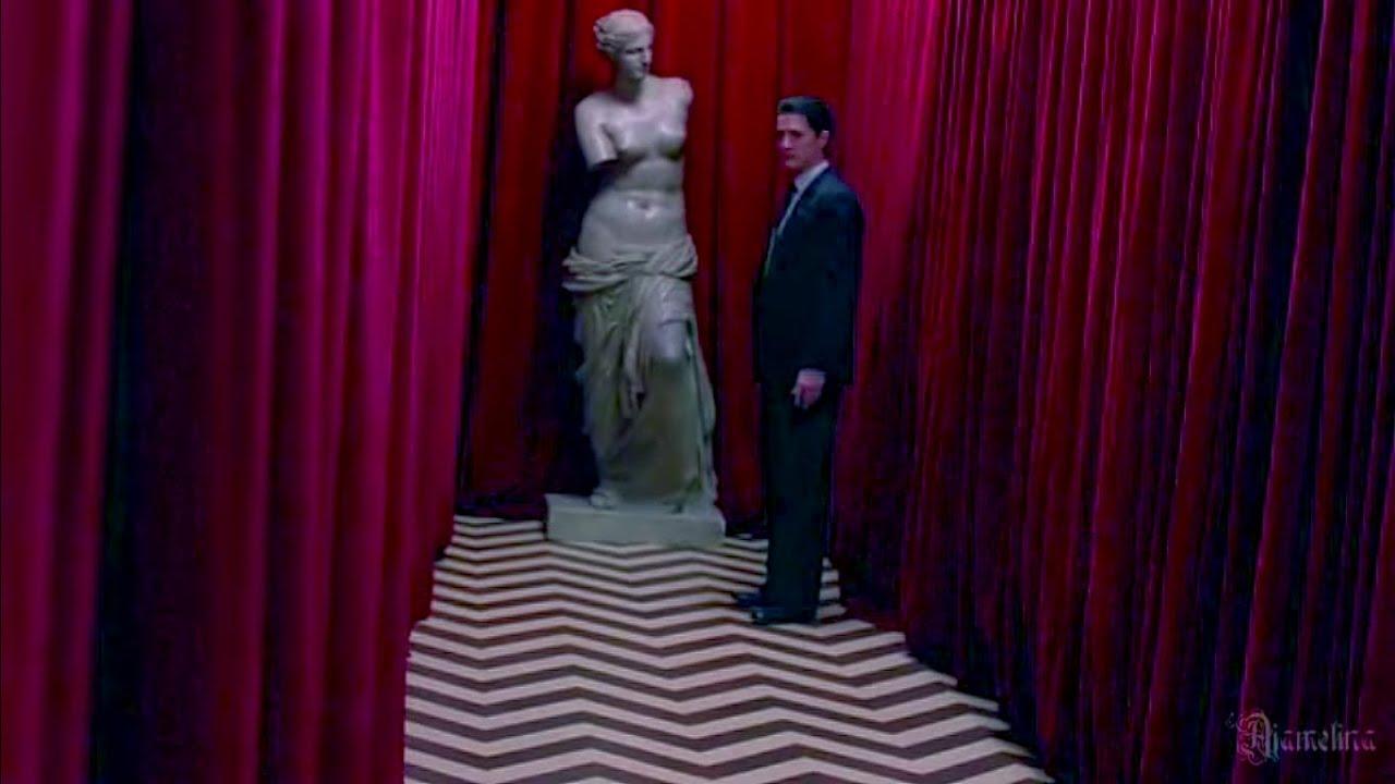 Twin Peaks Red Room Wallpaper