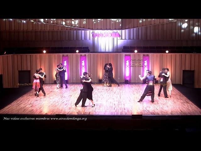 Mundial de tango  2021 Ronda 19 Pista, tema 3de3 Tango Buenos Aires #TangoBA