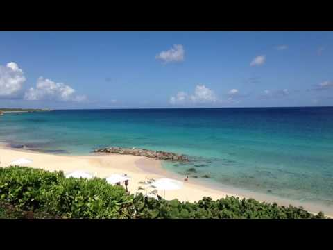 Beautiful Caribbean island of Anguilla