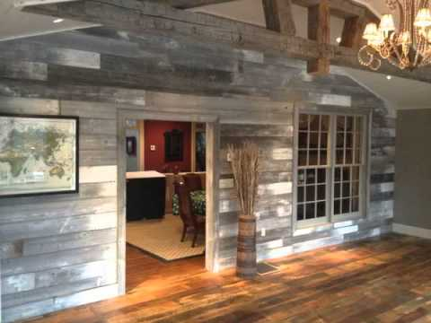 White barn siding and other reclaimed wood products for ...