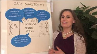 Pörssisäätiön toimitusjohtaja Sari Lounasmeri kertoo osakesäästötilistä