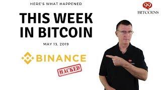 This week in Bitcoin - May 13th, 2019