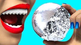 HOT!!! THÁCH LÀM QUẢ BANH BẠC NHẬT BẢN CỰC KHÓ !!! Japanese Aluminum Foil Ball