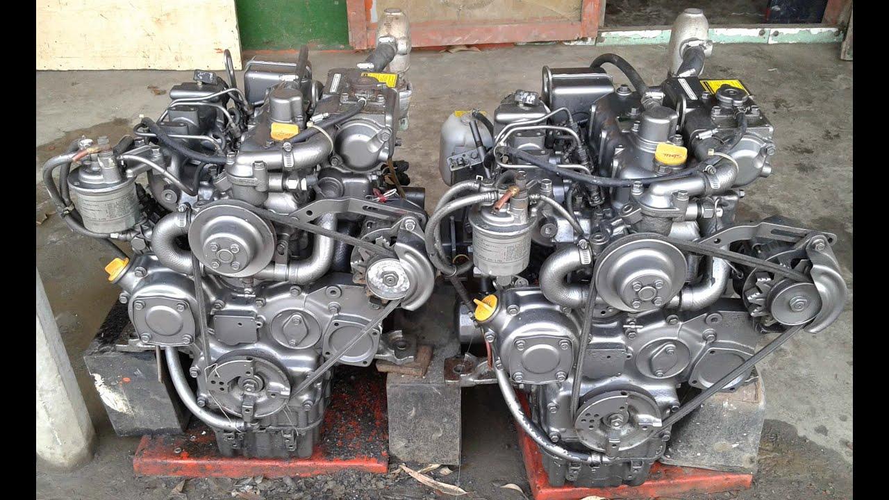 YANMAR Engine start video clips