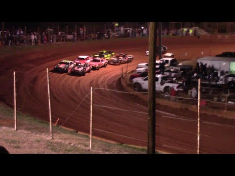 Opening night for the Stock Eight Cylinders. - dirt track racing video image