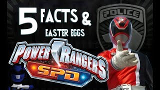 5 Facts & Easter eggs - Power Rangers S.P.D