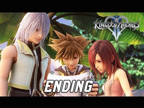 Kingdom Hearts 2.5 Final Mix Walkthrough Part 22 - ENDING + Final Boss (Kingdom Hearts 2 PS4 )