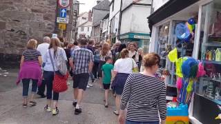 St Ives town walk through 2017 with Stabilization