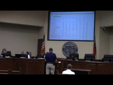 Airport Authority Budget Request - Jim Galloway