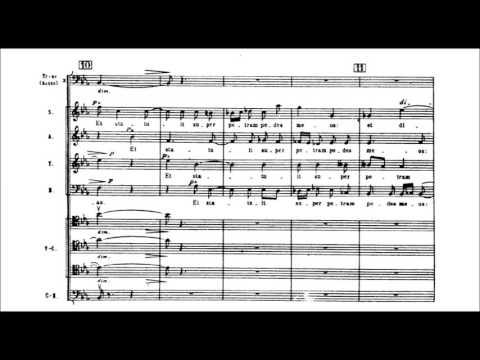 Igor Stravinsky - Symphony of Psalms [With score]