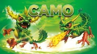 Skylanders - Camo Toy Line Gameplay Montage