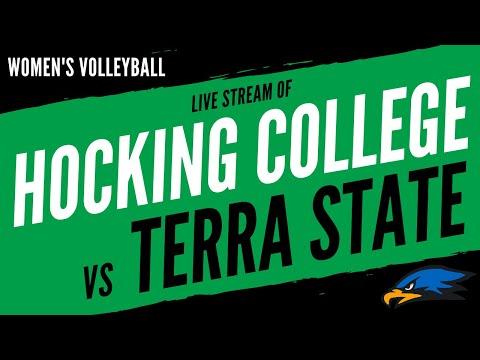 Hocking College vs. Terra State Community College Women's' Volleyball