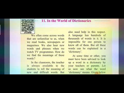 11.In the World of Dictionaries