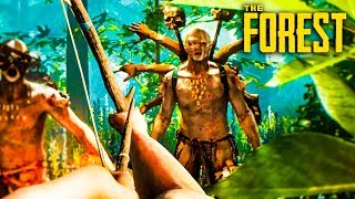 BEST SURVIVAL GAME EVER!!! (The Forest)