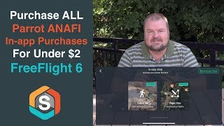 All Parrot ANAFI in-app purchases for under $2