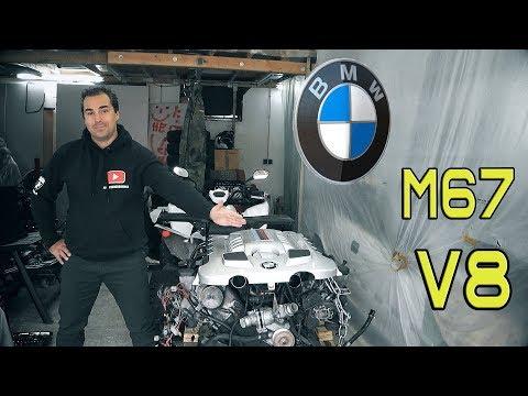 Фото к видео: Е38 740d МОТОР M67 V8 Bi-TURBO BMW #М67 СЕКРЕТЫ БУ ДВС В ГЕРМАНИИ