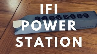 iFi Power Station Audio Power Strip Conditioner Reviewed