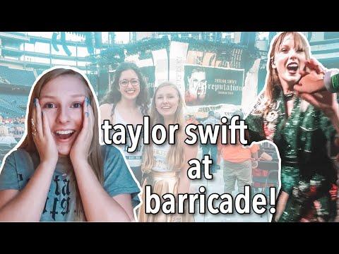 TOUCHING TAYLOR SWIFT'S HAND || Reputation Stadium Tour Vlog (Foxborough Nights 1&2)