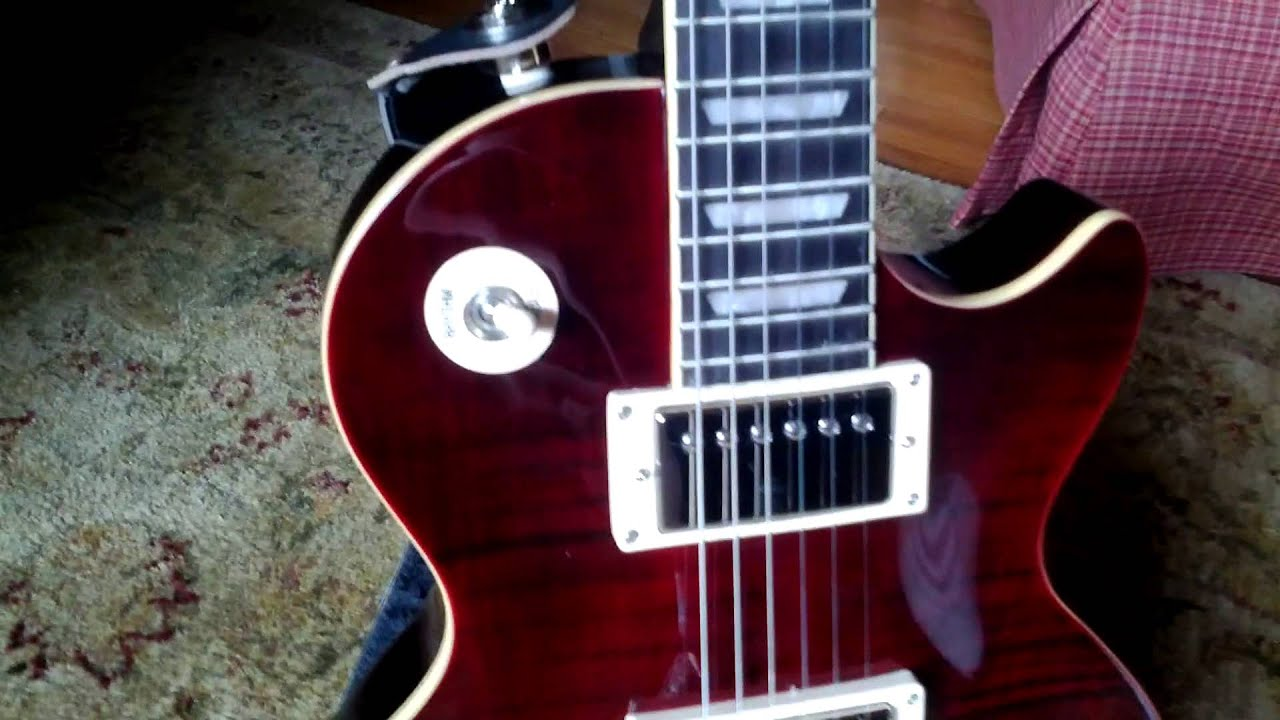 Wiring Epiphone 60s Tribute Just Diagrams Diagram For Les Paul 1960 Plus Black Cherry Youtube