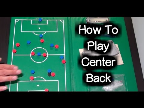 Center Back Tutorial (in possession) ► Soccer Positions / Football Positions