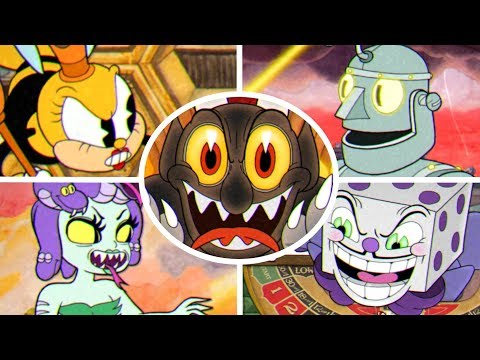 Cuphead - All Bosses & Ending