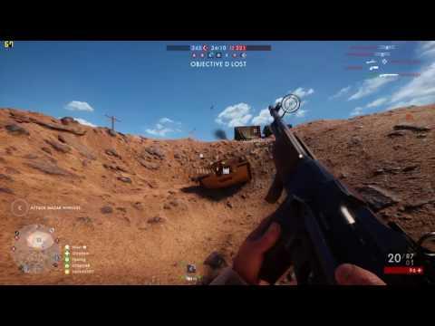 Battlefield 1 ULTRA Settings FPS Test GTX 970 & i5 4460