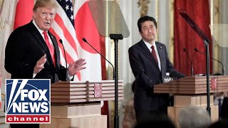 Shinzo Abe disagrees with Trump over North Korea missile tests