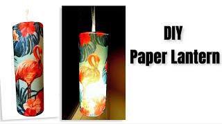 DIY Easy  Paper Lantern / Home decor Ideas
