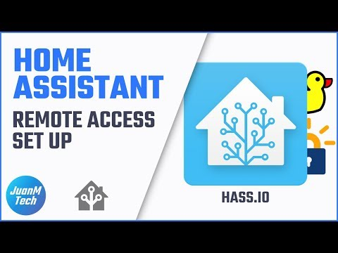 How to set up remote access in Home Assistant - Hass io