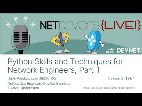 NetDevOps Live - Cisco DevNet
