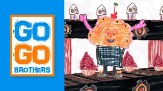 "The Go Go Brothers S1 (Ep 9) ""Cupcake Monster"""