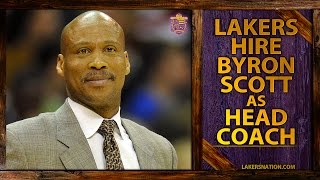 BREAKING: Lakers Hire Byron Scott As New Head Coach