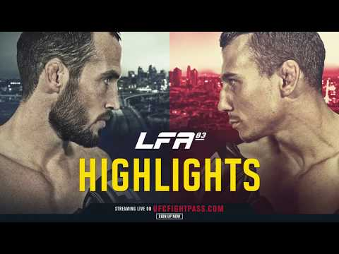 LFA 83 Highlights: Jackson vs. Chaulet