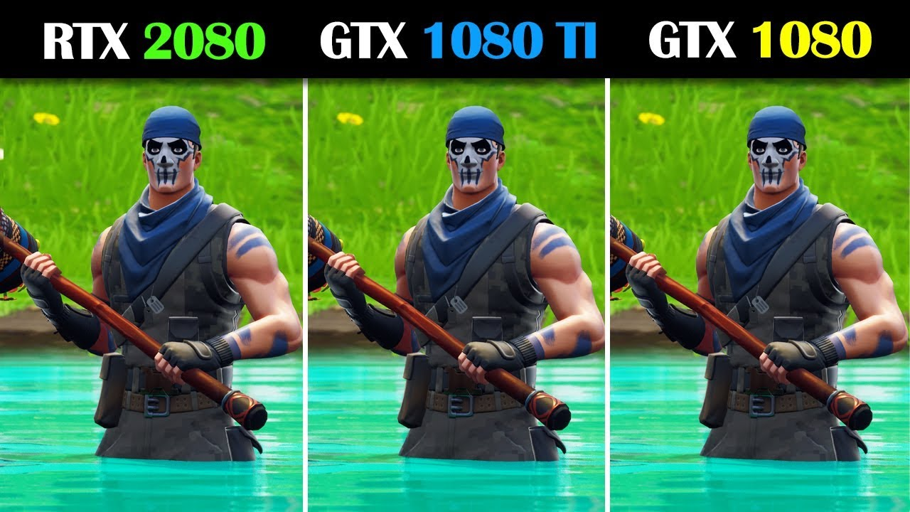 RTX 2080 vs GTX 1080 Ti vs GTX 1080 Fortnite – Tech vs Tech