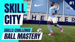 BALL MASTERY De Bruyne v Sterling v Stones | SkillCity