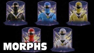 Mighty Morphin Alien Rangers - All Ranger Morphs | Power Rangers Episodes 2-10 | Superheroes