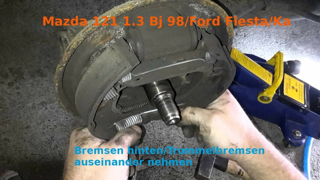 2016 Hyundai Santa Fe >> Mazda 121 1,3 bj. 98/ Ford Fiesta/ Ka Trommelbremse ...
