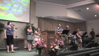 BRC Worship Team - Shout To The North (Delirious? cover by Martin Smith) - 07/07/12