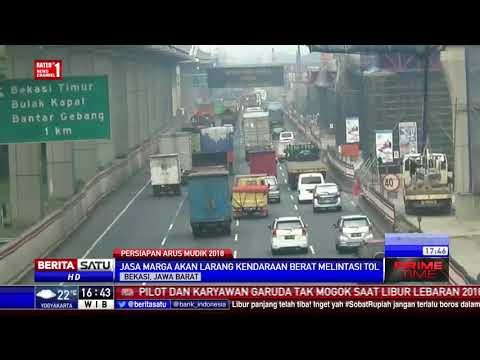 Proyek Tol Jakarta-Cikampek Diliburkan Selama Musim Mudik Lebaran