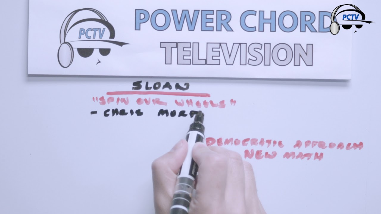 """Sloan """"12"""" (Part 2 of 4) Whiteboard Sessions"""