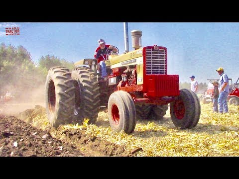 International Tractors Plowing At The Half Century Of Progress Show