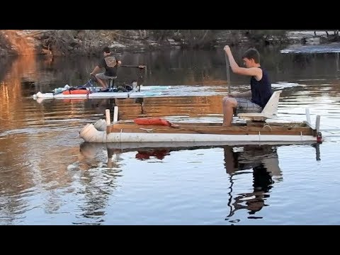 Comparing the PVC Pontoon Boat and the Amphibious Go-Cart ...