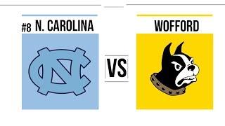CBB 2018-2019 #8 North Carolina vs Wofford Full Game Highlights