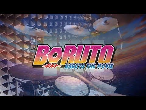 """【BORUTO - ボルトOP2 Full】""""OVER"""" - Little Glee Monster を叩いてみた - Drum Cover"""